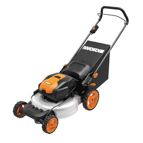 Worx WG772 IntelliCut 56V Cordless Lithium-Ion 19 in. 3-in-1 Mower