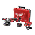 Milwaukee 2780-22 M18 FUEL 4-1/2 in. - 5 in. Paddle Switch Grinder with (2) REDLITHIUM Batteries image number 0