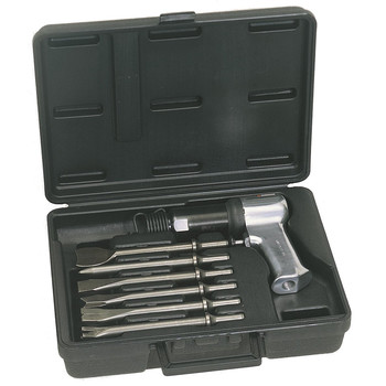 Ingersoll Rand 121-K6 Super-Duty Air Hammer with 6 Pc. Chisel Bit Set