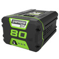 Factory Reconditioned Greenworks GBA80200 80V 2.0 Ah Lithium-Ion Battery