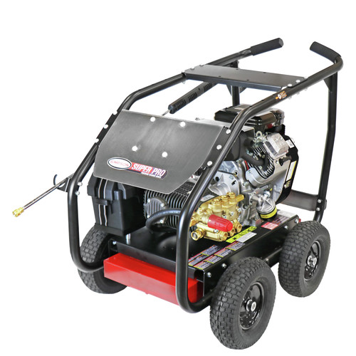 Simpson 65212 4000 PSI 5.0 GPM Gear Box Medium Roll Cage Pressure Washer Powered by VANGUARD image number 0