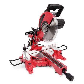 General International MS3005 10 in. 15A Sliding Miter Saw with Laser Alignment System