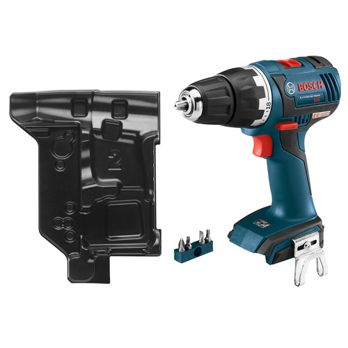 Bosch DDS182BN 18V Cordless Lithium-Ion 1/2 in. Brushless Compact Tough Drill Driver with L-BOXX Insert Tray (Tool Only) image number 0