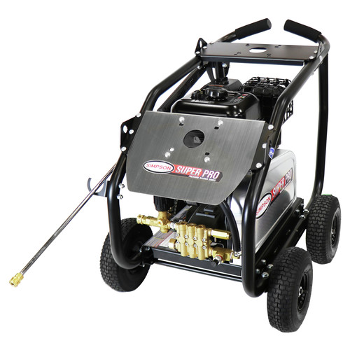 Simpson 65211 4400 PSI 4.0 GPM Belt Drive Medium Roll Cage Professional Gas Pressure Washer with Comet Pump image number 0