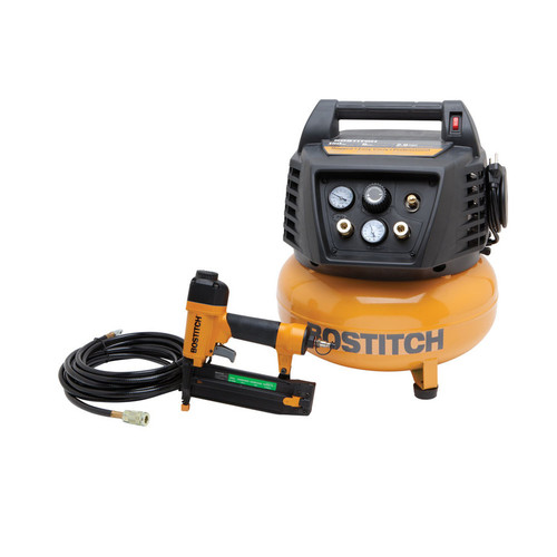 Factory Reconditioned Bostitch BTFP72665-R Brad Nailer & Compressor Combo Kit