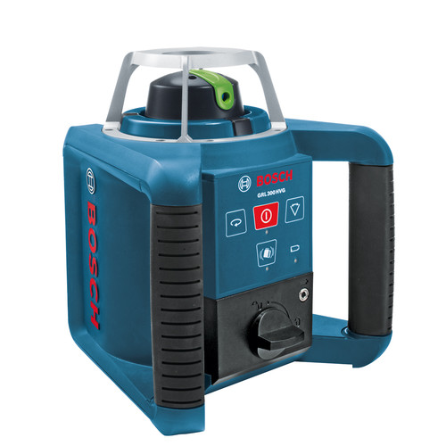 Bosch GRL300HVG Self-Leveling Rotary Laser with Green Beam Technology image number 0