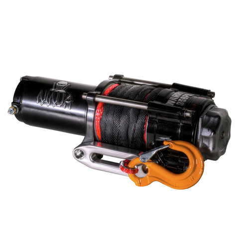 Warrior Winches C3500N-SR 3,500 lb. Ninja Series Planetary Gear Winch Synthetic Rope image number 0