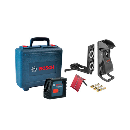 Factory Reconditioned Bosch GLL2-15-RT Self-Leveling Cross Line Laser