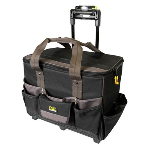 CLC L258 Tech Gear 17 in. LED Light Handle Roller Bag