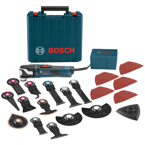Bosch GOP55-36C2 5.5 Amp StarlockMax Oscillating Multi-Tool Kit with 40-Piece Accessory Kit