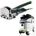 Festool DF 500 Q Domino Mortise and Tenon Joiner with CT 36 E 9.5 Gallon HEPA Mobile Dust Extractor