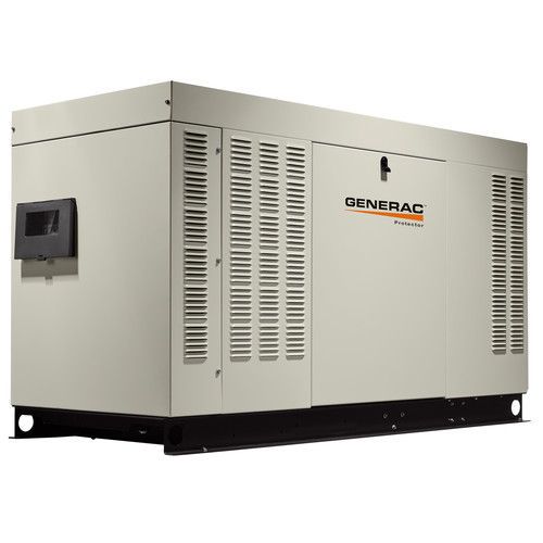 Generac RG03624ANAX Protector Liquid-Cooled 2.4L 36 kW 120/240V Single Phase LP/Natural Gas Aluminum Automatic Standby Generator