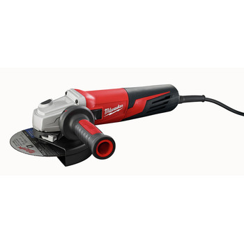 Milwaukee 6161-33 6 in. 13 Amp Slide Switch Small Angle Grinder with Lock-On Button image number 0
