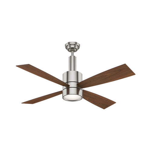 Casablanca 59288 54 in. Bullet Brushed Nickel Ceiling Fan with Light and Wall Control