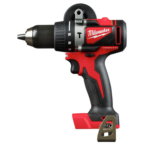 Factory Reconditioned Milwaukee 2902-80 M18 Lithium-Ion Brushless 1/2 in. Cordless Hammer Drill (Tool Only) image number 0