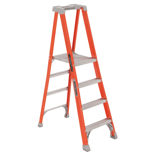 Louisville FXP1704 4 ft. Type IA Duty Rating 300 lbs. Load Capacity Fiberglass Platform Step Ladder image number 0