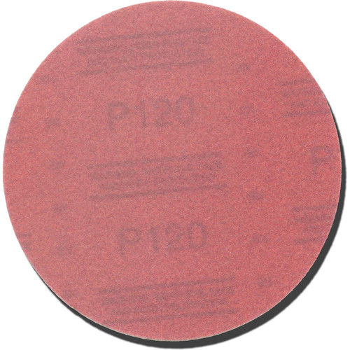 3M 1114 6 in. P120A Red Abrasive Stikit Disc image number 0