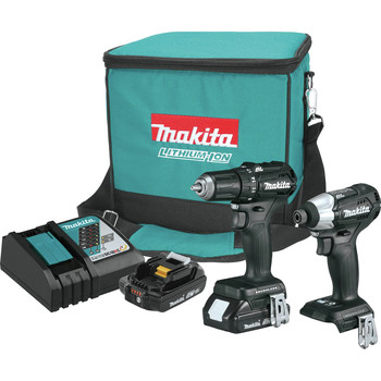 Factory Reconditioned Makita CX200RB-R 18V LXT Lithium-Ion Sub-Compact Brushless Cordless 2-Pc. Combo Kit image number 0