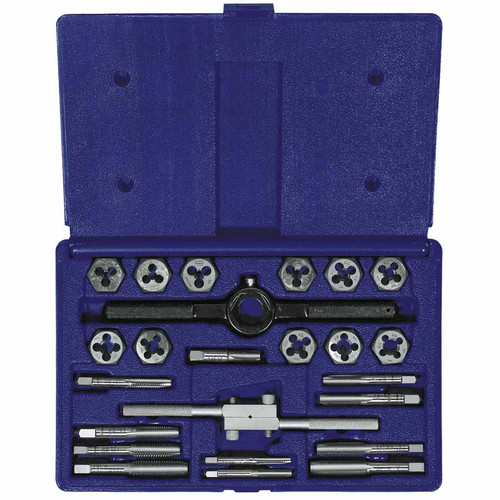 Irwin Hanson 585-24614 24-pc Fractional Tap & Hex Die Set