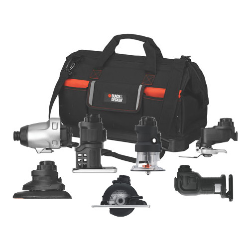 Black & Decker MATRIXACCKIT Matrix Big Bag 7-Piece Accessory Kit