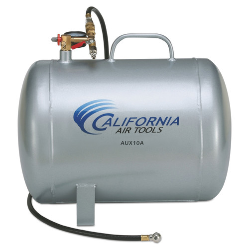 California Air Tools CAT-AUX10A 10 Gallon Lightweight Portable Aluminum Air Tank image number 0