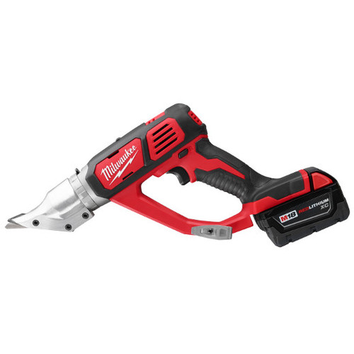 Factory Reconditioned Milwaukee 2635-82 M18 18V 3.0 Ah Cordless Lithium-Ion 18 Gauge Double Cut Shear