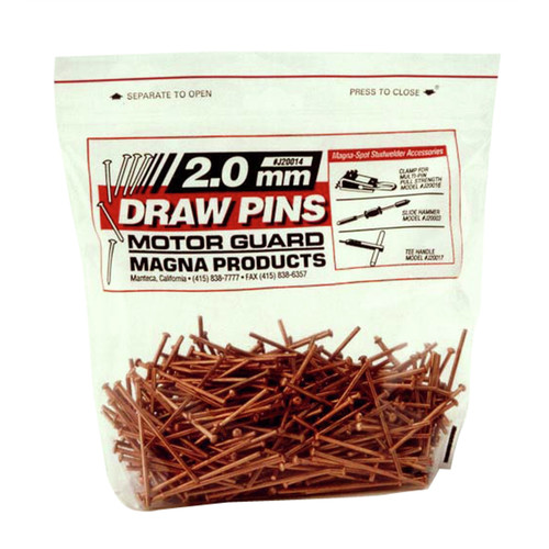 Motor Guard J20015 500-Piece 2.5 mm Draw Pins Set image number 0