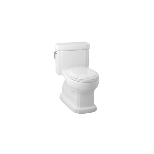 TOTO MS974224CEFG#01 Eco Guinevere Elongated 1-Piece Floor Mount Toilet (Cotton White)