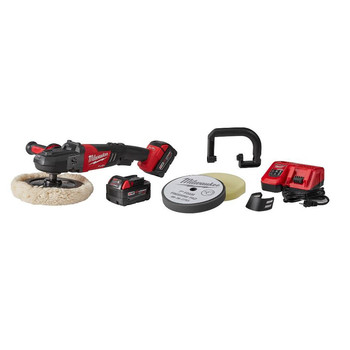 Milwaukee 2738-22P M18 FUEL Lithium-Ion 7 in. Variable Speed Polisher Kit with Pad for 2738-20s