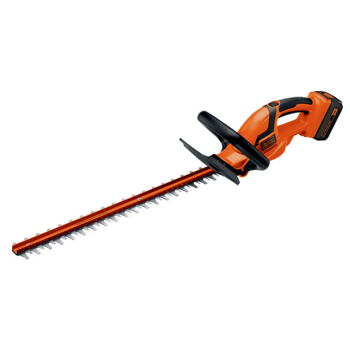Black & Decker LHT2436 40V MAX Cordless Lithium-Ion 24 in. Dual Action Hedge Trimmer image number 0
