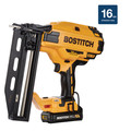 Bostitch BCN662D1 20V MAX 2.0 Ah Lithium-Ion 16 Gauge Straight Finish Nailer Kit image number 6