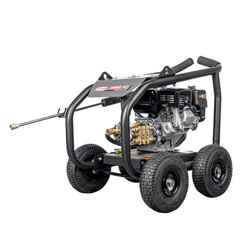 Simpson 65200 Super Pro 3600 PSI 2.5 GPM Direct Drive Small Roll Cage Professional Gas Pressure Washer with AAA Pump
