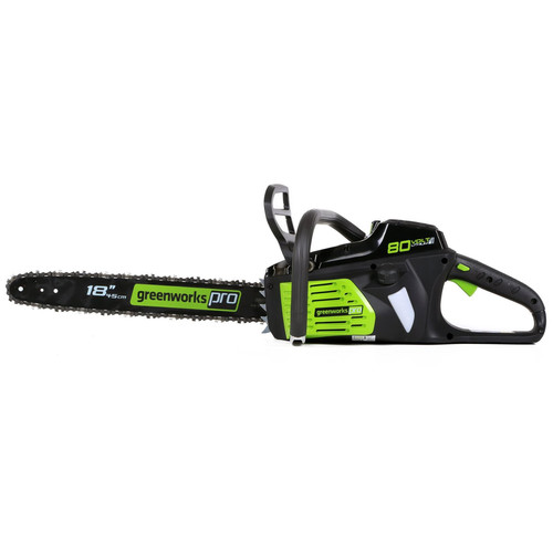 Greenworks GCS80450 80V Lithium-Ion DigiPro 18 in. Chainsaw (Tool Only) image number 0