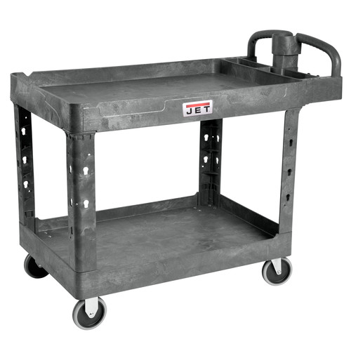 JET 141016 Resin Utility Cart image number 0