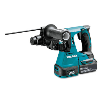 Makita XRH01T 18V LXT Lithium-Ion Brushless 1 in. Cordless Rotary Hammer Kit (5 Ah) image number 1