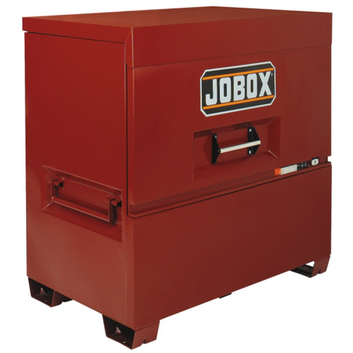 JOBOX 1-681990 48 in. Long Piano Lid Box with Site-Vault Security System