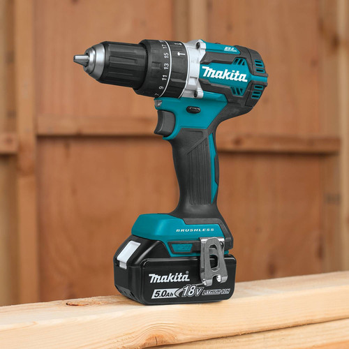 Makita XPH12T 18V LXT Lithium-Ion Compact Brushless 1/2 in. Cordless Hammer Drill Driver Kit (5 Ah) image number 3