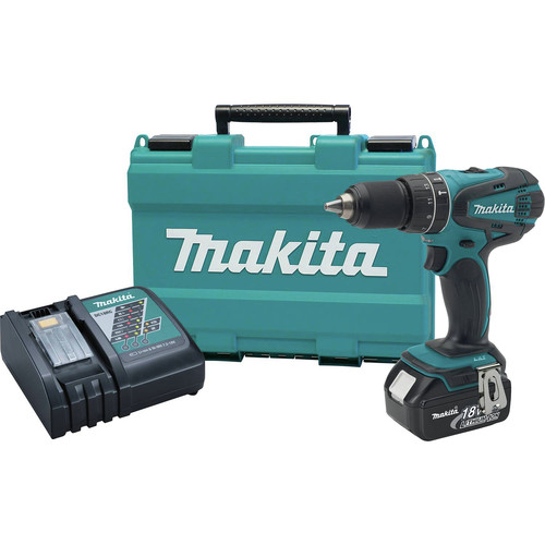 Factory Reconditioned Makita XPH012-R 18V LXT Lithium-Ion Variable 2-Speed 1/2 in. Cordless Hammer Drill Driver Kit (3 Ah) image number 0