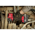 Milwaukee 2854-22 M18 FUEL Lithium-Ion Brushless Compact 3/8 in. Cordless Impact Wrench Kit with Friction Ring (5 Ah) image number 10