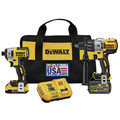 Dewalt DCK299D1T1 FlexVolt 20V MAX Cordless Lithium-Ion Hammer Drill and Impact Driver Combo Kit with 2 Batteries image number 0