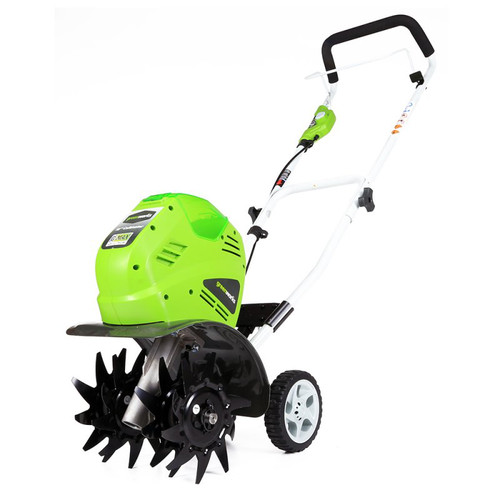 Greenworks 27062 40V G-MAX Cordless Lithium-Ion 10 in. Cultivator