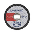 Dremel EZ476 EZ Lock 1-1/2 in. Cut-Off Wheels for Plastic (5-Pack)