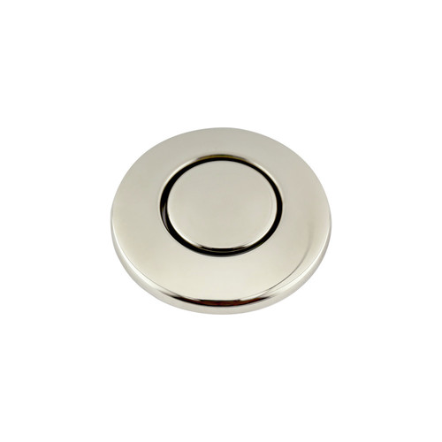 InSinkerator STC-PN SinkTop Switch Button (Polished Nickel) image number 0