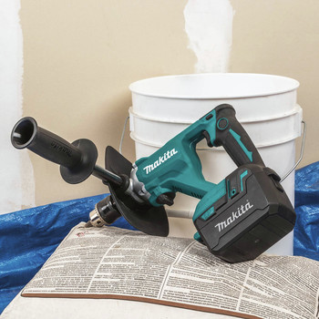Makita XTU02T 18V LXT Lithium-Ion Brushless 1/2 in. Cordless Mixer Kit (5 Ah) image number 9