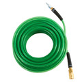 Hitachi 115156 1/4 in. x 100 ft. Polyurethane Air Hose with Industrial Fittings (Green)