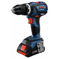 Bosch GSB18V-535CB25 18V Lithium-Ion Connected-Ready Compact Tough 1/2 in. Cordless Hammer Drill Kit (4 Ah) image number 1