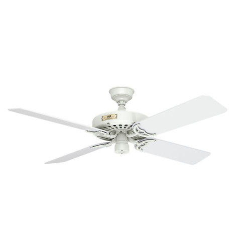 Hunter 23845 52 in. Outdoor Original White Ceiling Fan