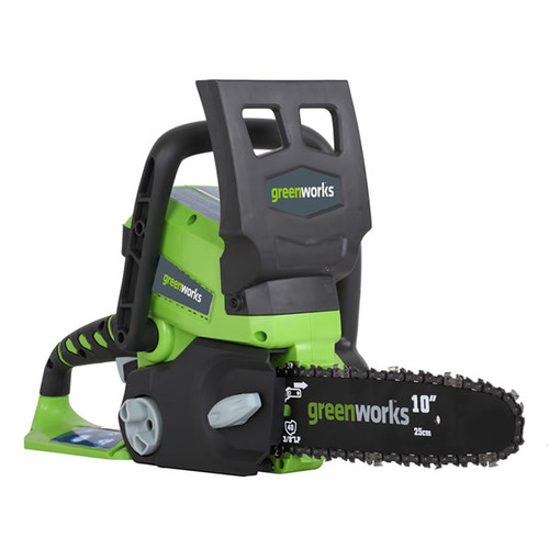 Greenworks 20272 24V Cordless Lithium-Ion 10 in. Chainsaw (Bare Tool)