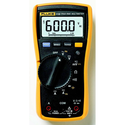 Fluke 115 True RMS Digital Multimeter image number 0