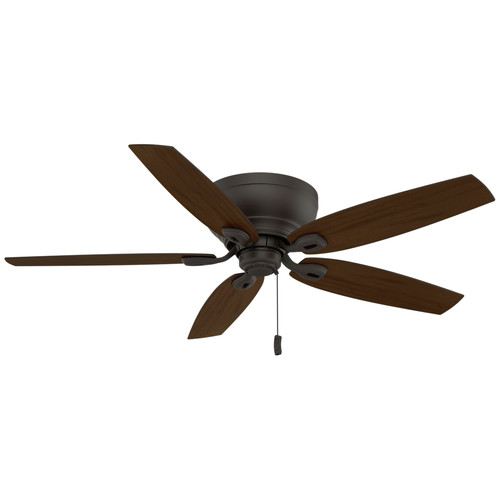 Casablanca 54102 Durant 54 in. Transitional Maiden Bronze Smoked Walnut Indoor Ceiling Fan image number 3